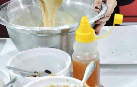 Preparando a massa de panqueca