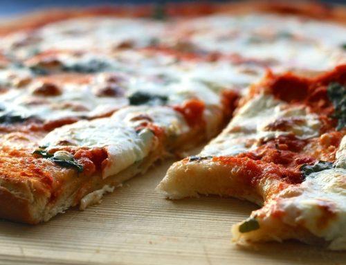 PIZZA LEVE COM MASSA DE LEITE