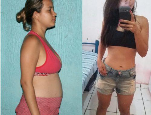 Antes e Depois: Nina Thayrini, driblando as adversidades!